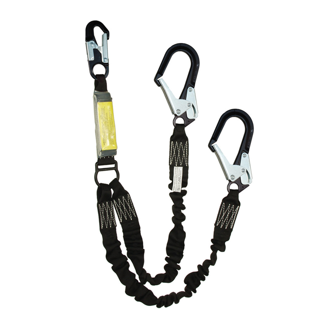 Yates Stage Rigging Elasticized Lanyards -Twin Leg
