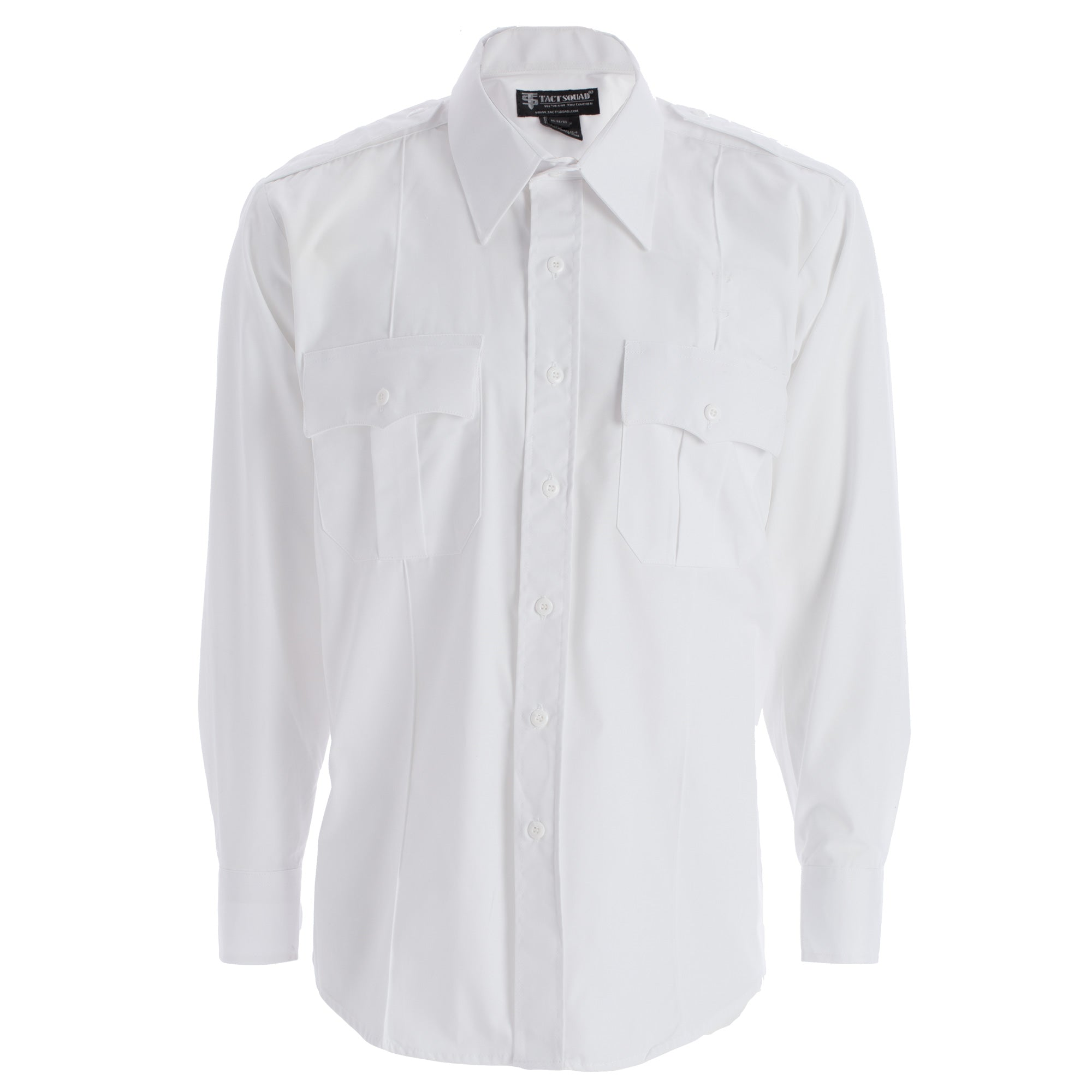 Tact Squad Men's Polyester/Cotton Long Sleeve Uniform Shirt - 8003