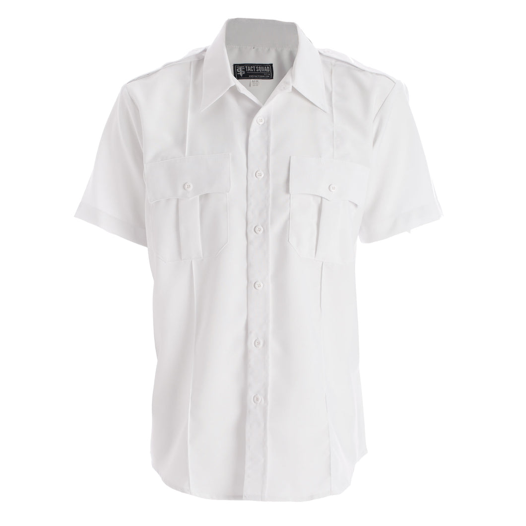Tact Squad Women's Polyester/Cotton Short Sleeve Uniform Shirt - 8013W