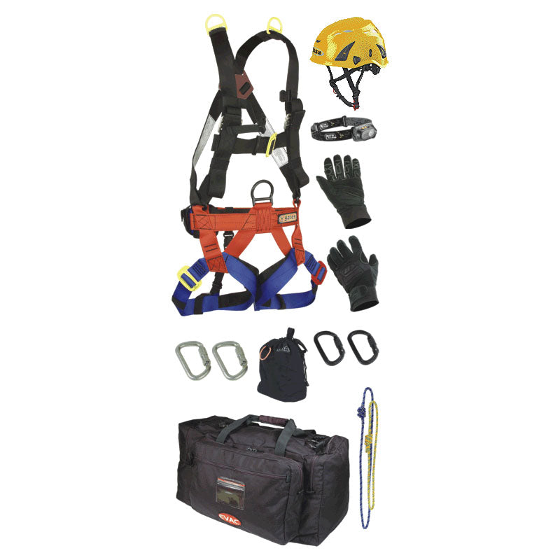 Confined Space Rescuer Personal Equipment Kit