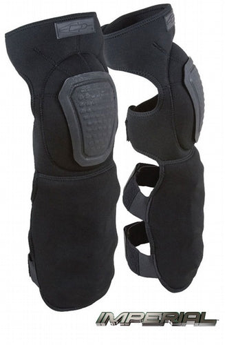 Damascus Gear DNSG-B Neoprene Knee/Shin Guards w/ Non-slip Knee Caps - Black