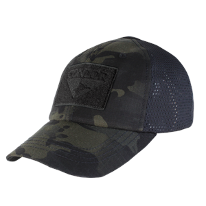 Condor Mesh Tactical MultiCam Black Cap