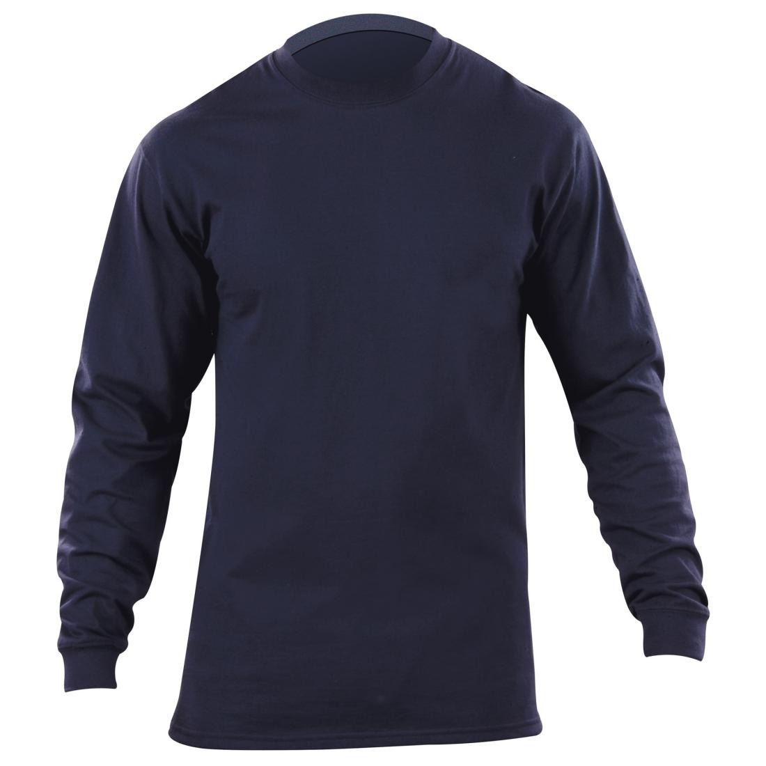 5.11 Tactical 40052 Men Station Wear Long Sleeve T-Shirt Fire Navy