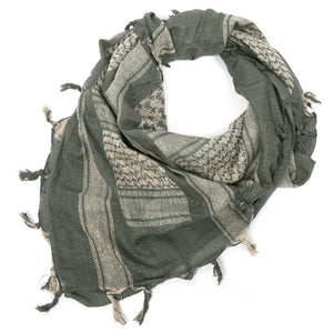"Rebel Tactical Shemagh Tactical Military Scarf 42""x42"" Heavy Weight Desert  - Coyote"