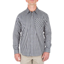 5.11 Tactical 72428 Men Covert Flex Long Sleeve Shirt Pearl