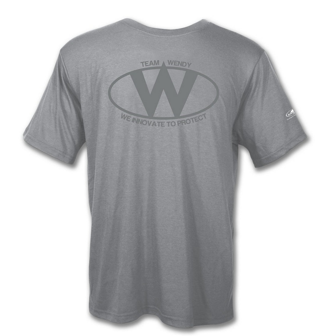 Team Wendy Center Logo T-Shirt Athletic Grey