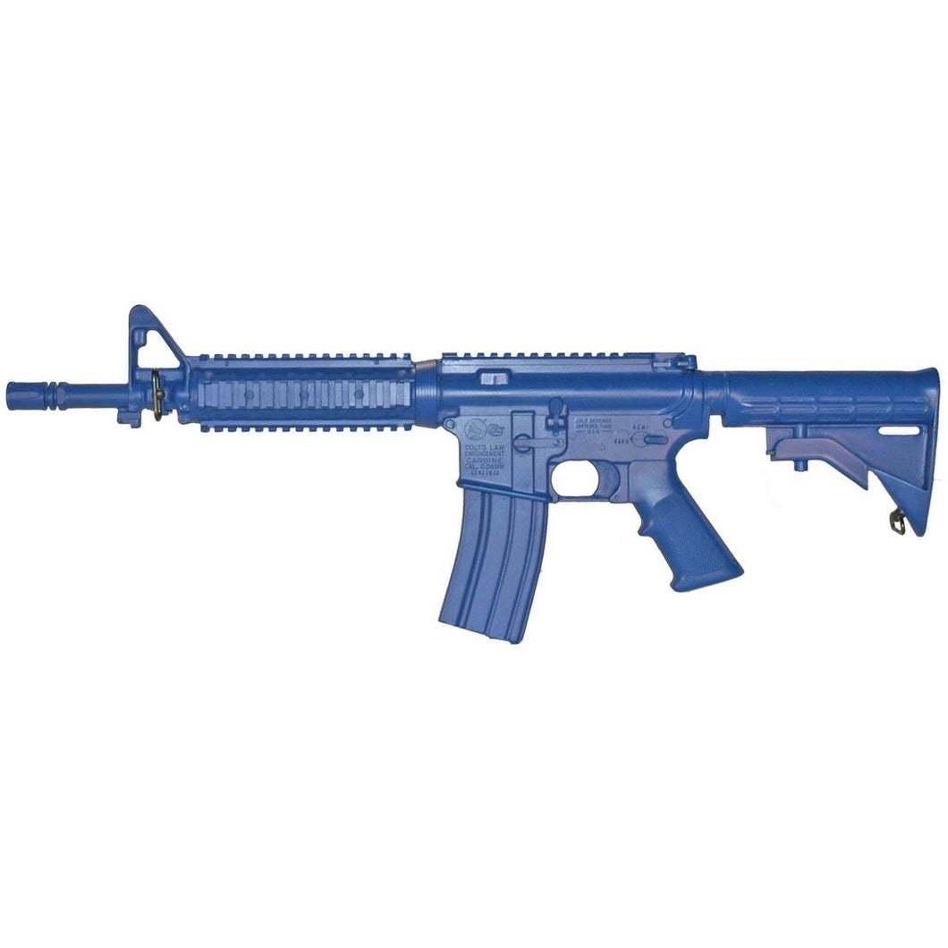 Blueguns FSM4CFTRCS M4 COMMANDO Flat Top Closed Stock, Fwd Rail