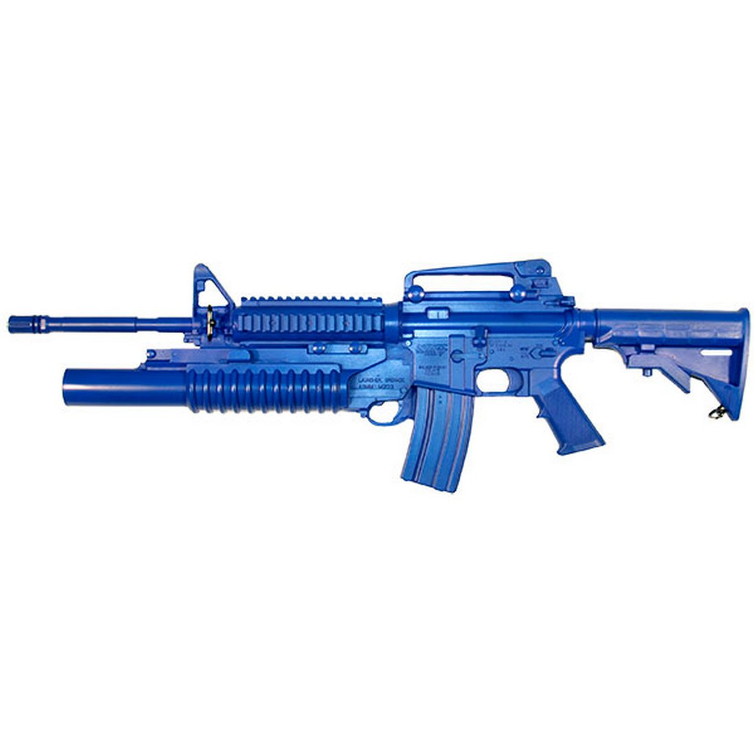 Blueguns FSM4RCSM203 M4 Closed Stock, Fwd Rail, M203 Grenade Launcher