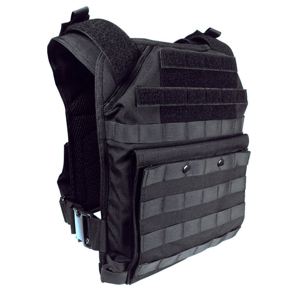 Spartan Tactical Plate Carrier - Black