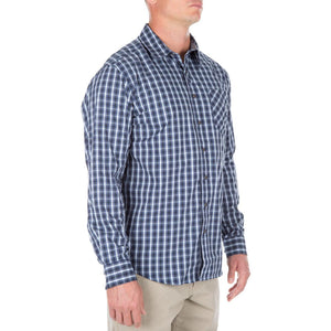 5.11 Tactical 72428 Men Covert Flex Long Sleeve Shirt Olympian