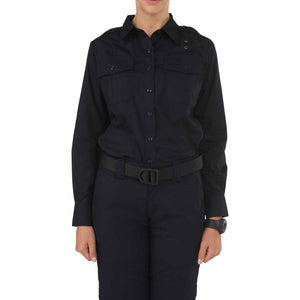 5.11 Tactical 62365 Women's Taclite PDU Class-A Long Sleeve Shirt Midnight Navy