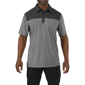5.11 Tactical 71351 Men Rapid Short Sleeve Polo Volcanic