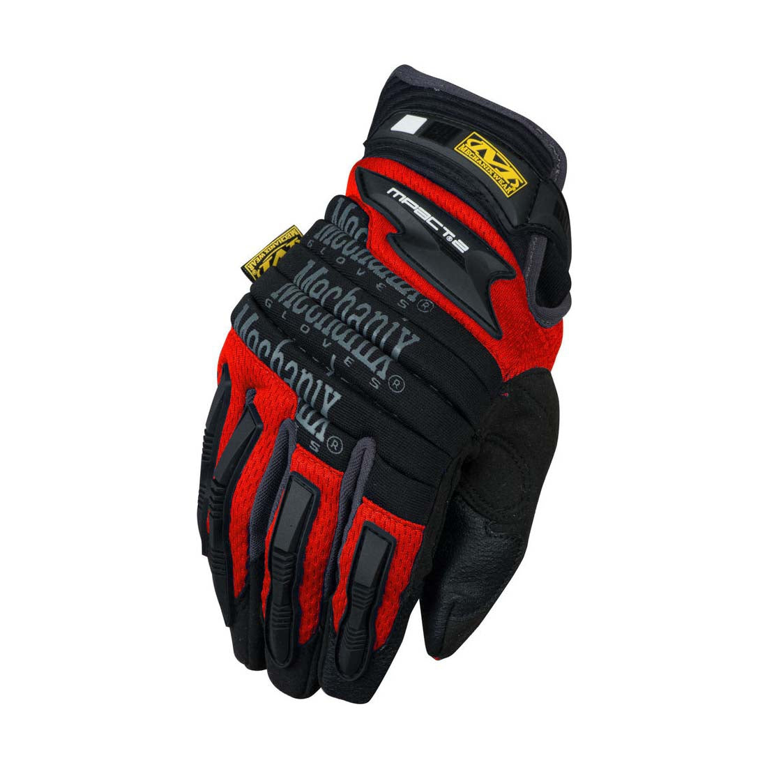Mechanix Wear MP2-02-008 Red M-Pact 2  Impact Gloves - Small