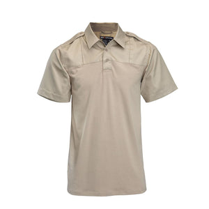 5.11 Tactical 71332 Men Rapid PDU Short Sleeve Shirt Silver Tan