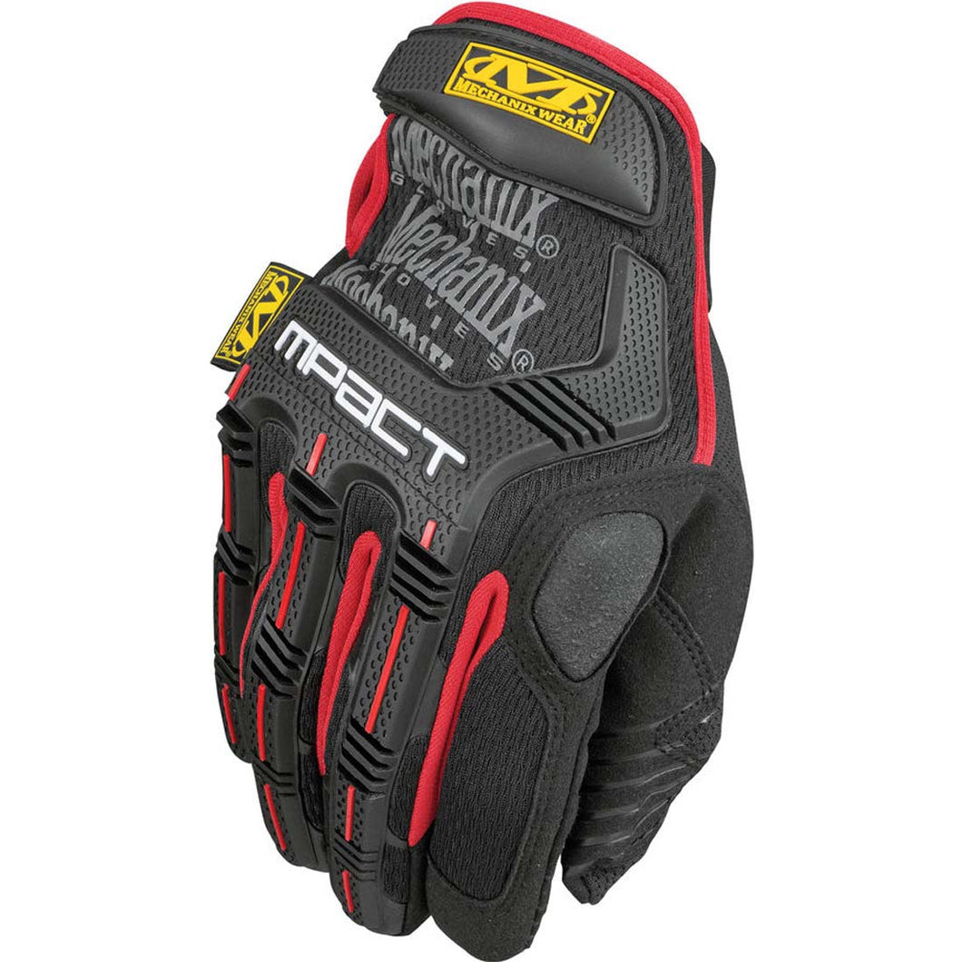 Mechanix Wear MPT-52-008 Red/ Black M-Pact Impact Glove - Small