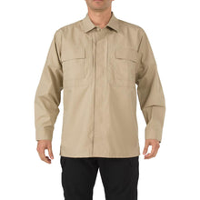 5.11 Tactical 72002 Men TDU Long Sleeve Shirt TDU Khaki