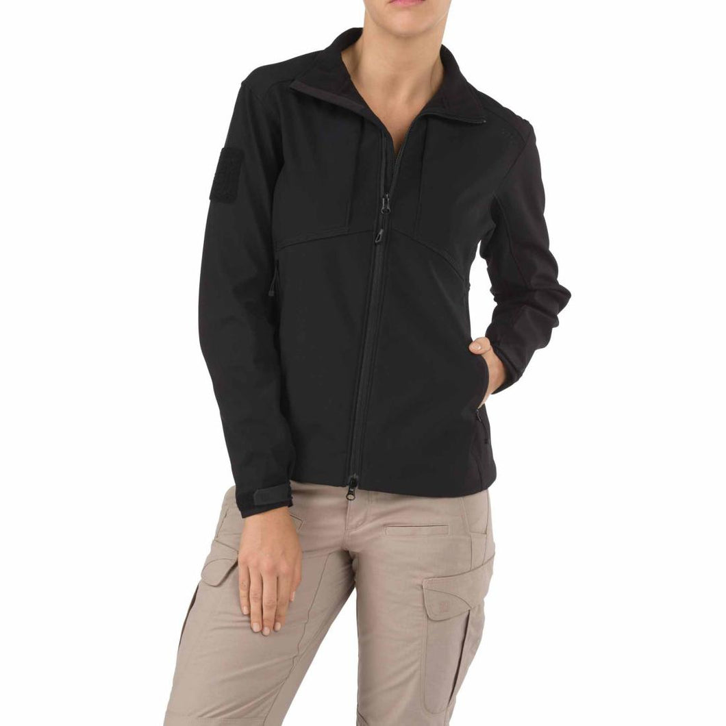5.11 Tactical 38068 Women's Sierra Softshell Black