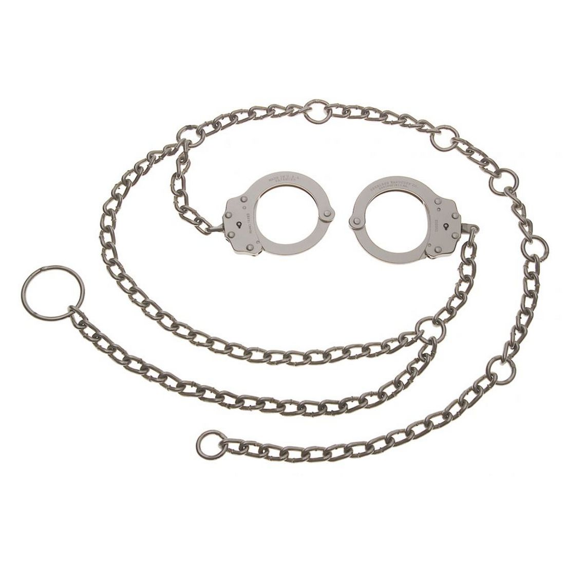 Peerless 7002C Waist Chain - Handcuffs at Hip