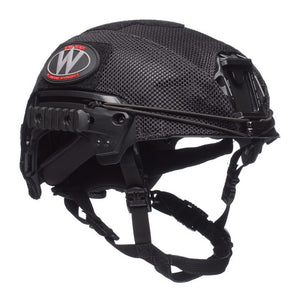 Team Wendy EXFIL Carbon and LTP Helmet Covers Black
