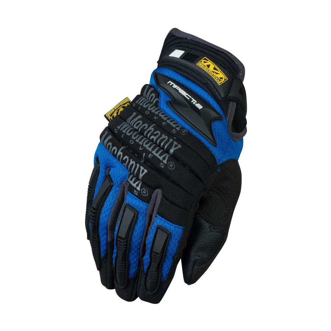 Mechanix Wear MP2-03-008 Blue M-Pact 2  Impact Gloves - Small