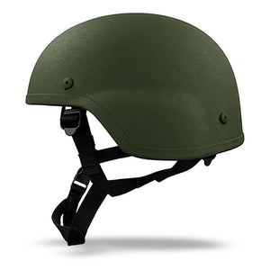 Ach MICH Helmet Level IIIA - OD Green Side
