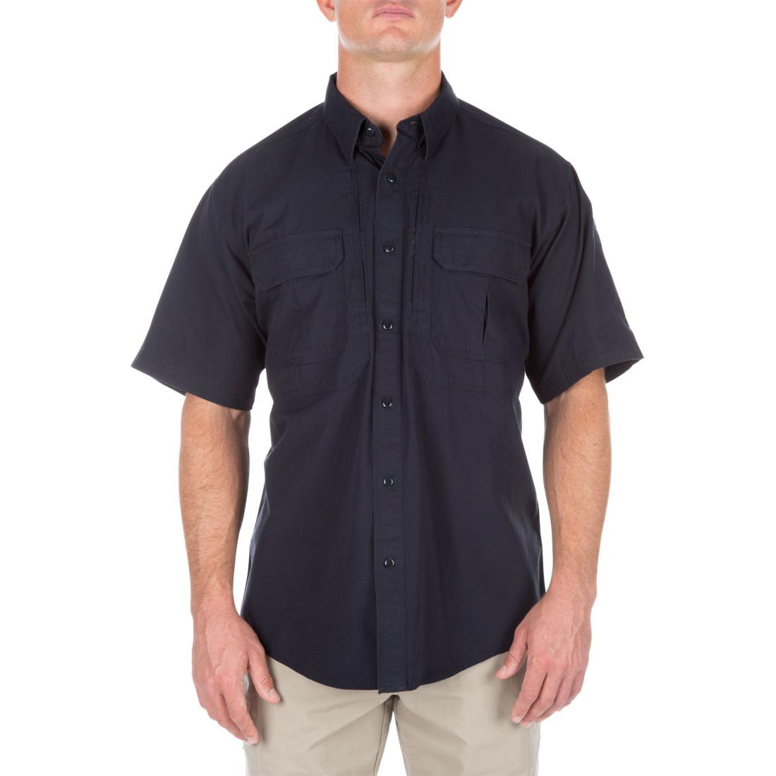 5.11 Tactical 71152 Men Tactical Short Sleeve Shirt Fire Navy