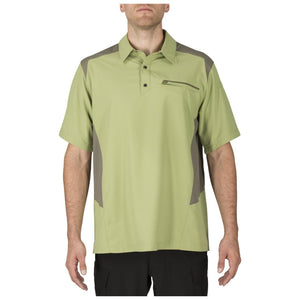 5.11 Tactical 71356 Men Freedom Flex Polo Mosstone
