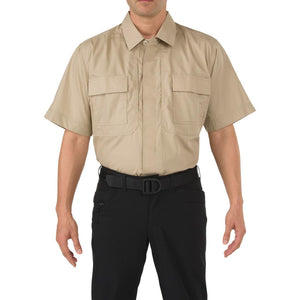 5.11 Tactical 71339 Men Taclite TDU Short Sleeve Shirt TDU Khaki
