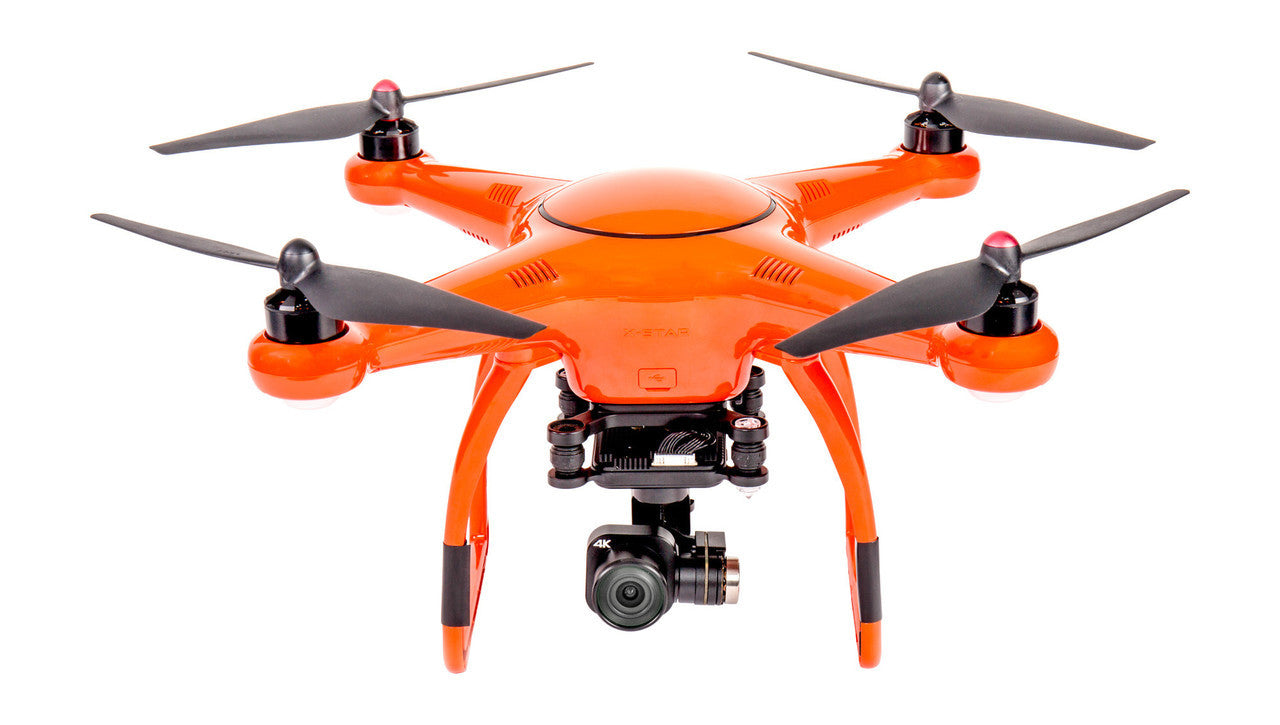 USNV AUTXSPRMOR X-Star Premium Drones W/4K Camera, 1.2-Mile HD Live View & Hard Case