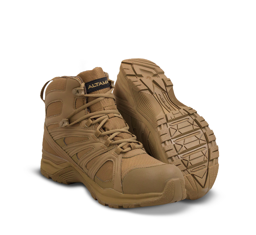Altama Tactical Boots - Aboottabad Trail Mid - Coyote