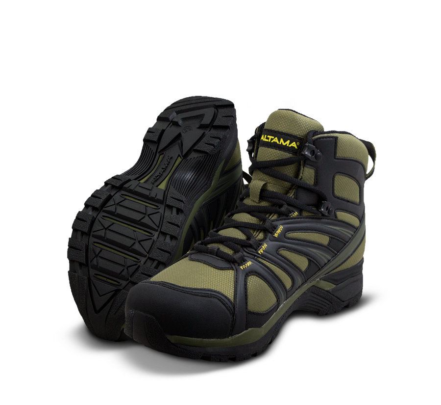 Altama Tactical Boots - Aboottabad Trail Mid - Hunter Green