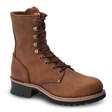 "Bonanza Boots 9"" Oil Resistant Logger Steel Toe Boots"