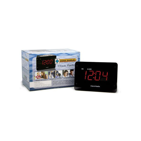 KJB Hardwired Clock Radio Camera - C1230HC