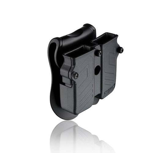 Universal Double Magazine Pouch 9mm, .40, .45 Cal