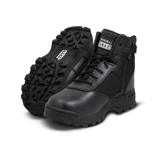 "Original SWAT Police Boots - Classic 6"" Waterproof Side Zip Safety Boots"