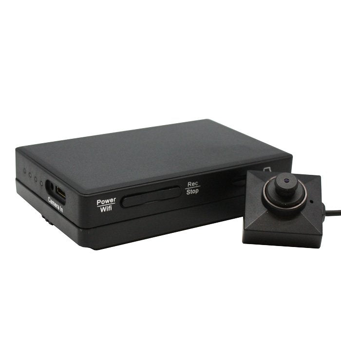 KJB LawMate Wi-Fi DVR and Button Camera set - DVR540W