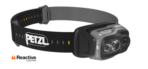 Petzl - SWIFT RL PRO Ultra-Powerful Lightweight Rechargeable Headlamp