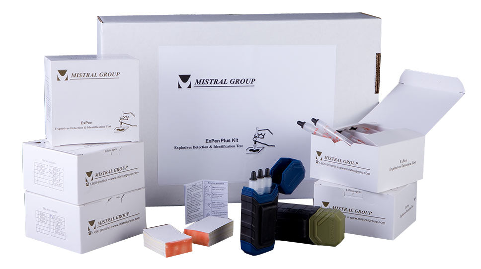 Mistral 1568-B20 ExPen B+ - Box of 20 Explosive Detection and Identification Kits