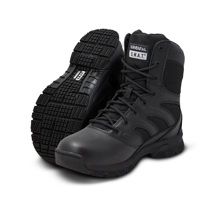 "Original SWAT  Tactical Police Boots - Force 8"" Waterproof Boots"