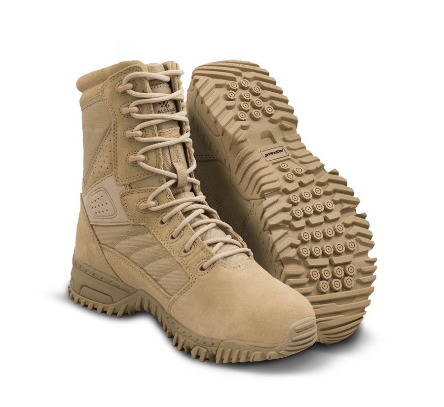"Altama Tactical Boots - Foxhound SR 8"" - Tan"