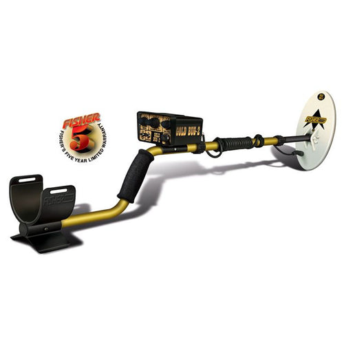 Fisher Gold Nugget Hunter Metal Detector