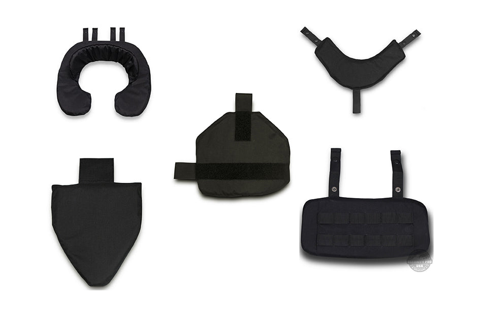 SecPro Gladiator Level IIIA Tactical Accessory Set