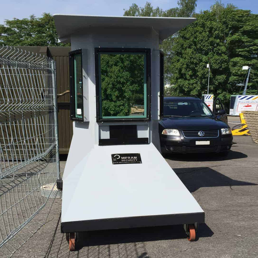 Portable Vehicle Barrier MVB 3X