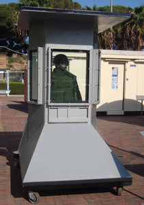 security guard booth