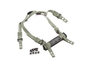 Team Wendy CAM FIT H-Back Retention System - Foliage Green