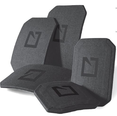 Hesco 100 Series P110 Special Pistol Threat Trauma Plates - Single Curve