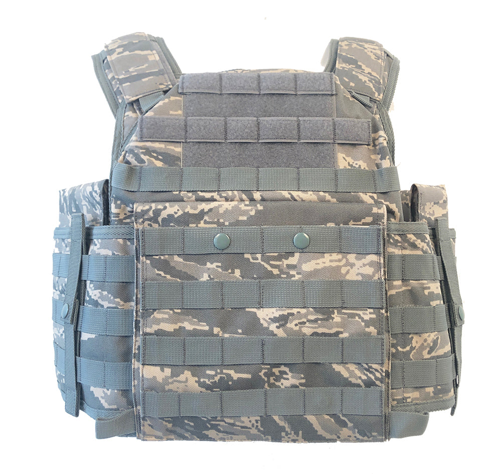 SecPro Spartan Tactical Plate Carrier - With Level IIIA Panels