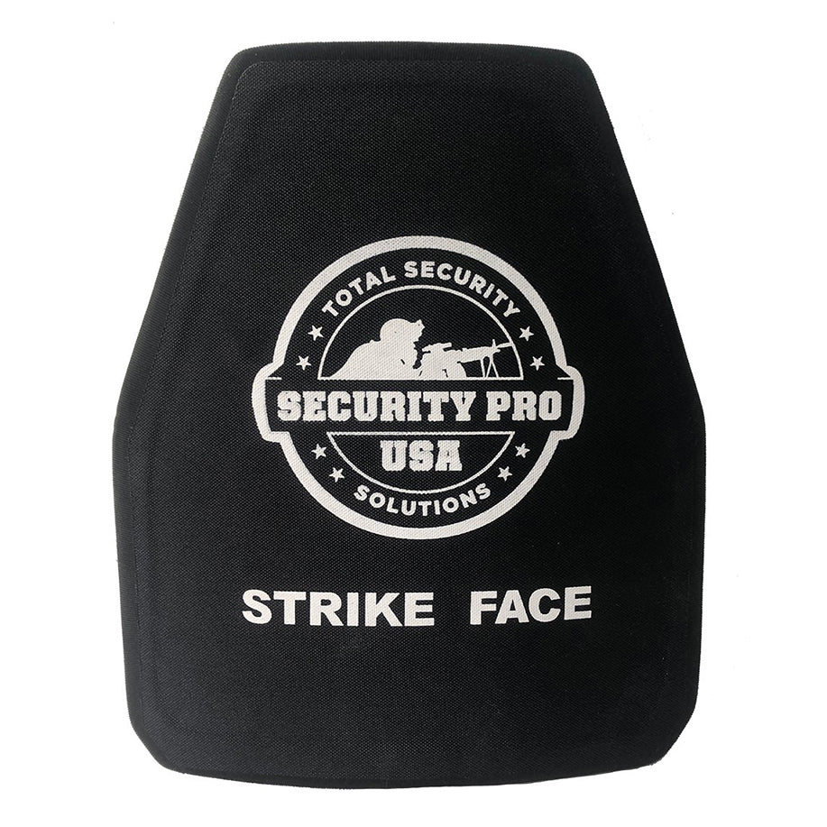 SecPro 3500 Ceramic Plate 10 x 12 NIJ IV Shooter Cut