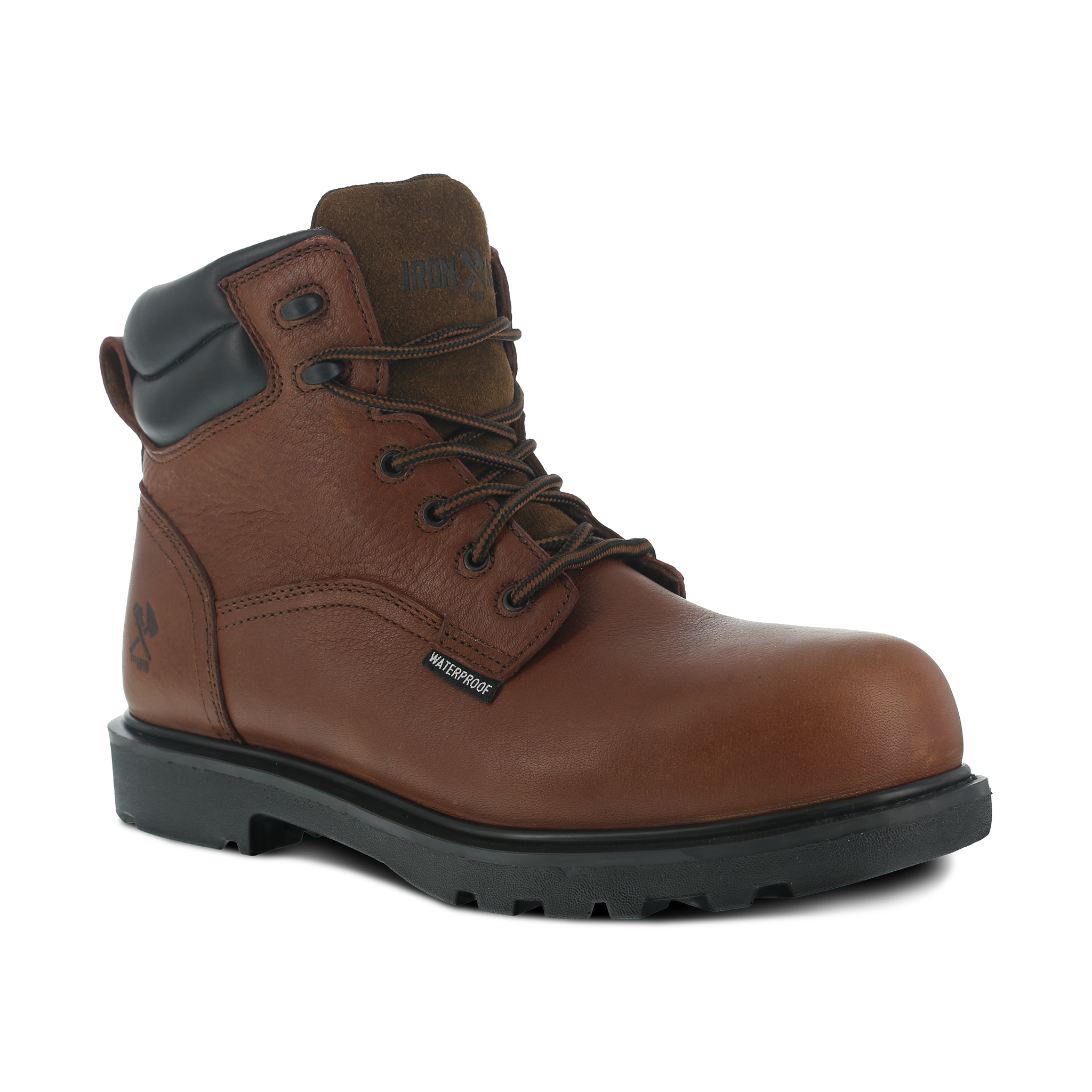 "Iron Age Men's Hauler 6"" Waterproof Work Boot - IA0160"