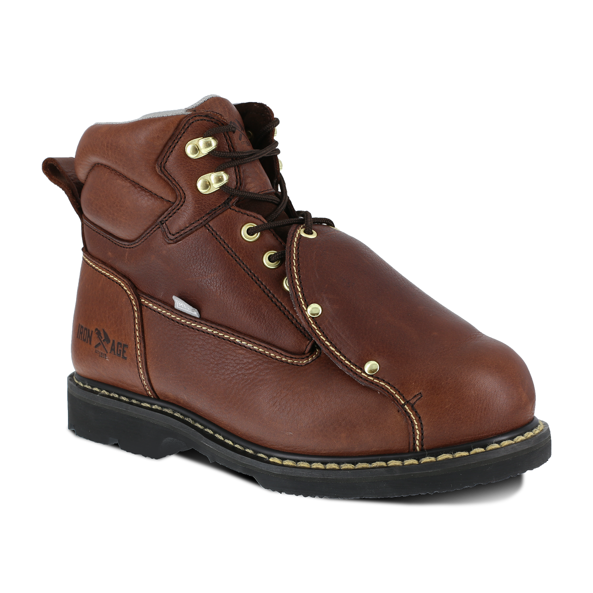 "Iron Age Men's Groundbreaker 6"" Work Boot with External Met Guard - IA5017"